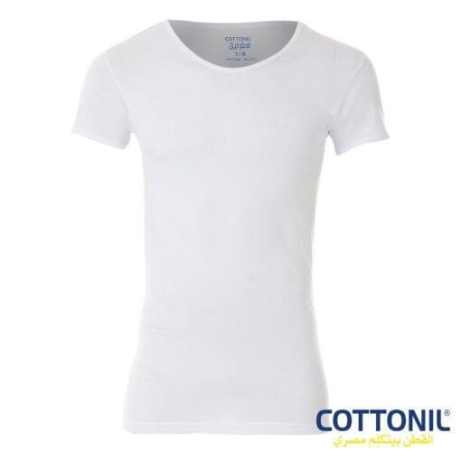 ٦فانلهقطونيلنصكمقطن١٠٠٪رجالي Cottonil